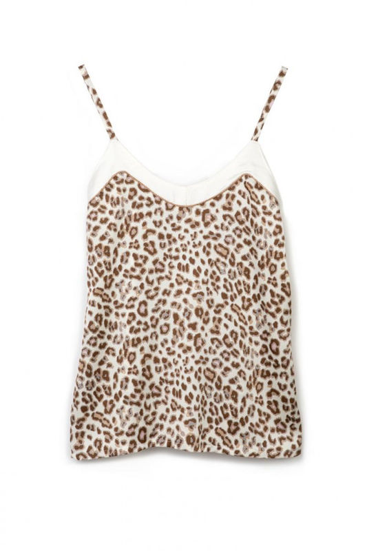 Top animal print colors M